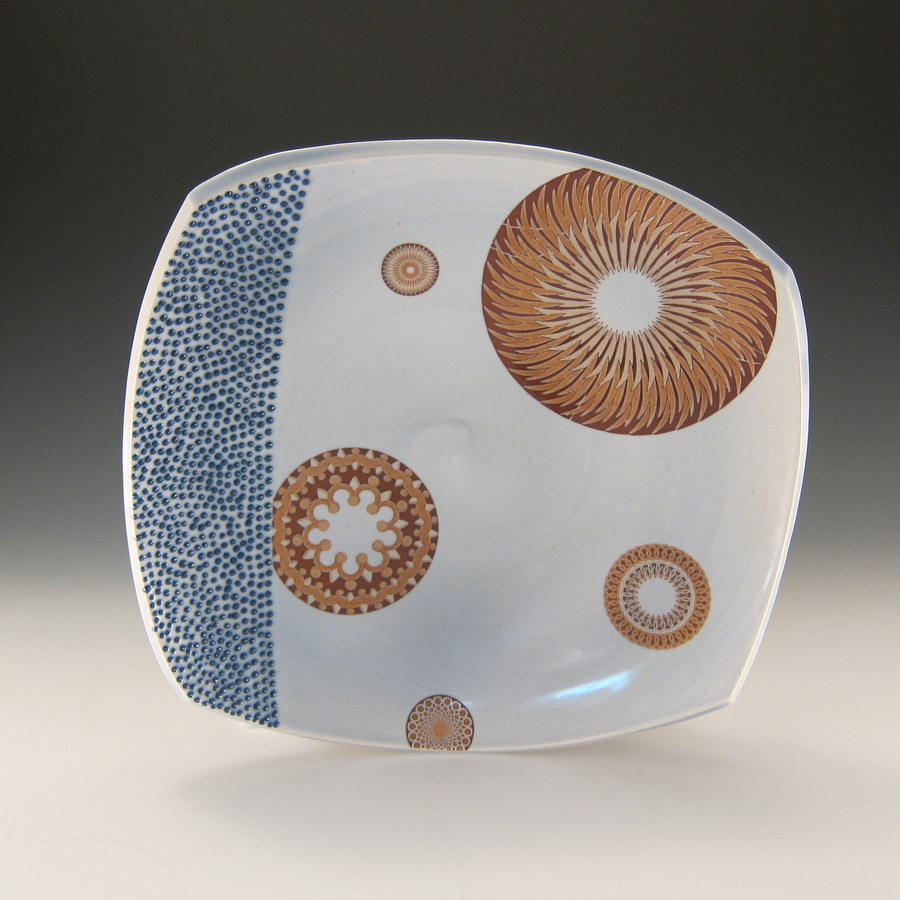 Emily Murphy Porcelain Pottery_squared_platter_with_circles