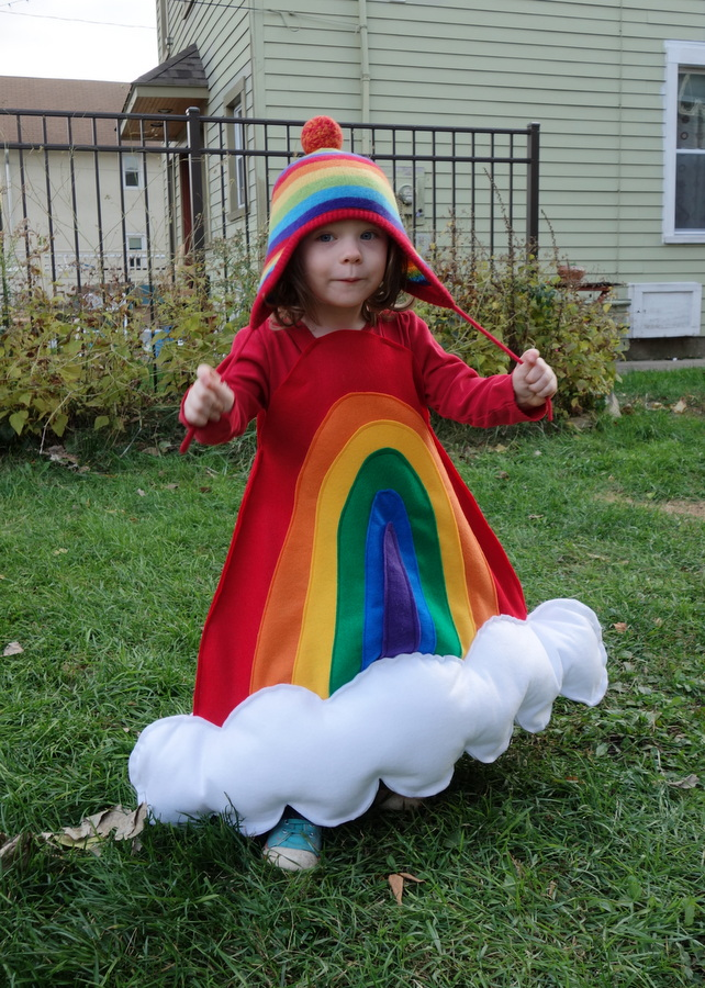 The cutest rainbow costume ever Emily Murphy Pottery Blog
