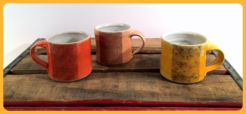 Emily Murphy Pottery americano cups