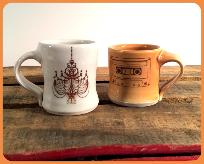 Emily Murphy Pottery kid sized cups