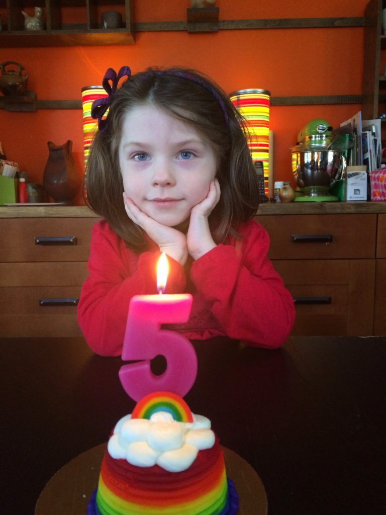 Ada's 5th birthday